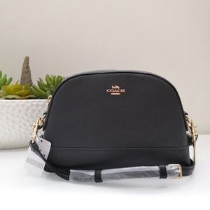 COACH Dome Leather Crossbody